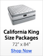 California King Size Packages