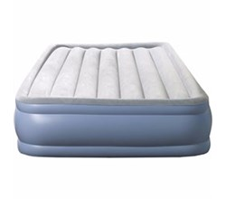 Beautyrest Air Mattresses beautyrest queen size hi loft raise express air bed with hands free pump
