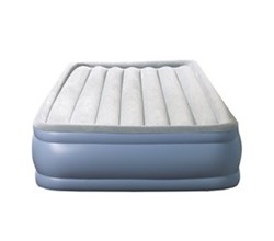 Beautyrest Air Mattresses beautyrest full size hi loft raised express air bed with hands free pump