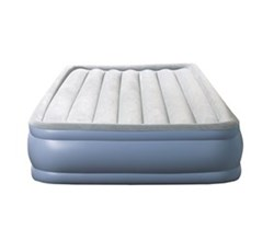 Beautyrest Air Mattresses beautyrest twin size hi loft raised express air bed with hands free pump