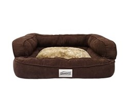 Beautyrest Pet Beds beautyrest colossal rest large corduroy brown pet bed large