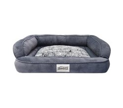 Beautyrest Pet Beds beautyrest colossal rest large corduroy silver pet bed