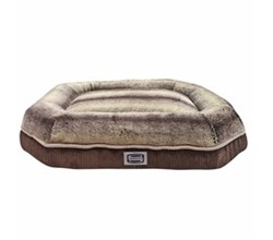 Beautyrest Pet Beds simmons comfort plus eight medium corduroy brown pet bed