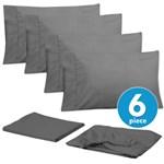 Simmons Sweet Home Full Gray Bed Sheet Set Sweet Home Bed Sheet Set