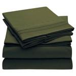 Simmons Mellanni Twin Emerald Green Bed Sheet Set Mellanni Bed Sheet S