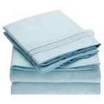 Simmons Mellanni Full Baby Blue Bed Sheet Set Mellanni Bed Sheet Set 434234-5