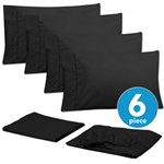Simmons Sweet Home Cal King Black Bed Sheet Set Sweet Home Bed Sheet S