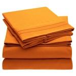 Simmons Mellanni Full Persimmon Bed Sheet Set Mellanni Bed Sheet Set 434272-5