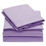 Simmons Mellanni Queen Violet Bed Sheet Set Mellanni Bed Sheet Set