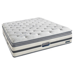 """""""Spalding Plush Pillow Top, Sleep in comfort with our Simmons Beautyrest Recharge Spalding Plush Pillow Top Mattress which has AirCool&reg mesh border fabric"""