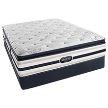 Simmons Twin XL Size Luxury Pillow Top (Softest) Comfort Mattress  beautyrest recharge ultra ford plush pillow top twinXL mattress set