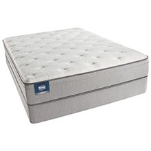 Simmons Queen Size Plush (Medium) Comfort Mattress  simmons beautysleep cadosia plush euro top set