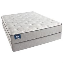 Simmons Queen Size Plush (Medium) Comfort Mattress  simmons beautysleep chickering plush set
