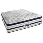 """""""River Lily Firm Pillow Top, Sleep in comfort with our Simmons BeautyRest World Class River Lily Luxury Firm SPT Mattress Only which has AirCool&reg memory and gel foams to providing pressure relief and support"""