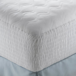 """Simmons Beautyrest Cotton Blend Mattress Pad - California King Size Brand New Includes Two Year Warranty, The Simmons Mattress Pad Cotton Blend is a Beautyrest&reg mattress pad which offers you outstanding comfort while providing long lasting protection"