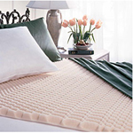 """""""Simmons Beautyrest Convoluted Mattress Topper - Full Size Brand New Includes Two Year Warranty, The Simmons Beautyrest Convoluted Mattress Topper is 1 inch deep, providing therapeutic cushioning without robbing you of support for maximum sleeping comfort and provides even weight dispersion to improve circulation"""