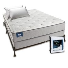 beautyrest recharge mattresses simmons beautysleep cadosia plush euro top set bundle